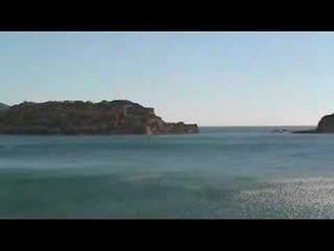 Creta: panorama di Spinalonga da Plaka