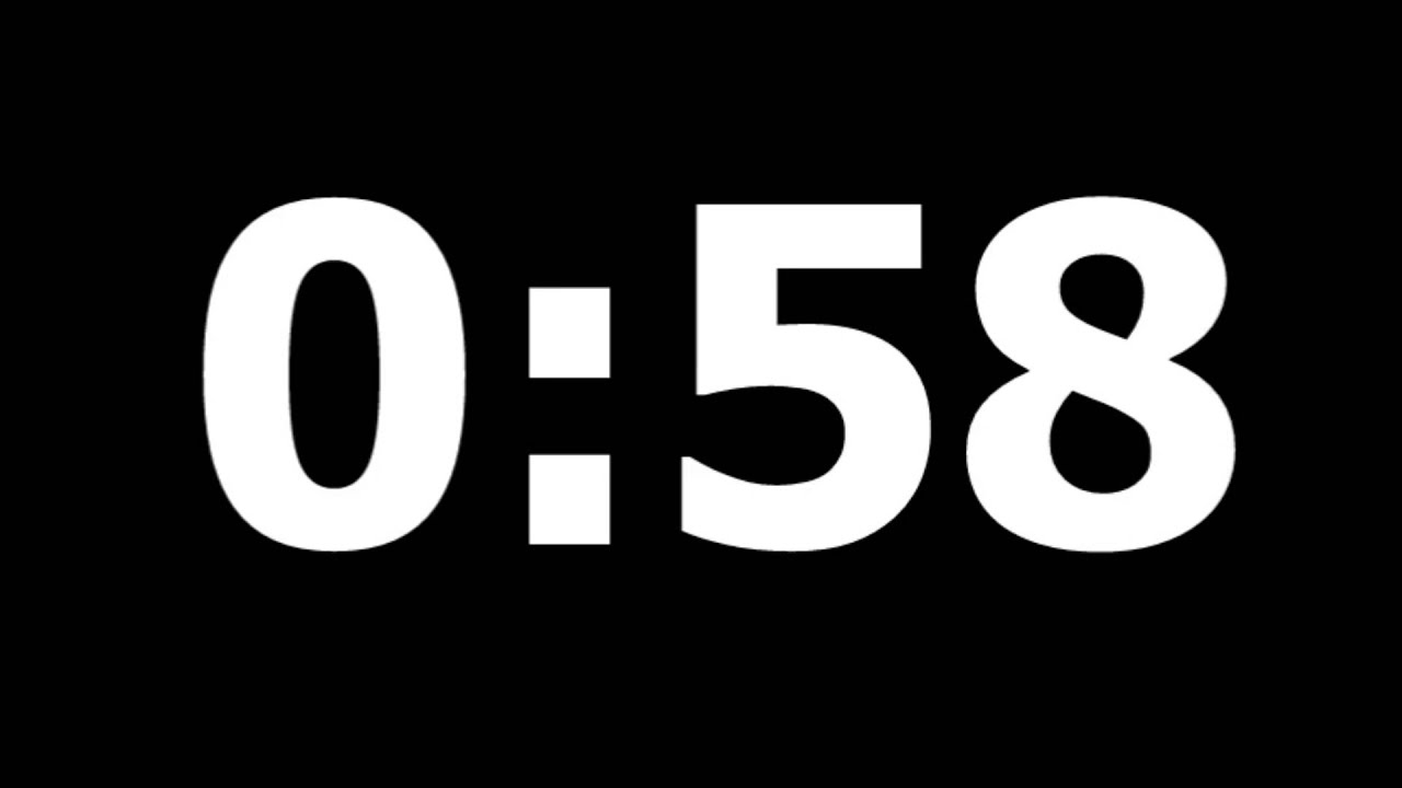 3 minute countdown timer with alarm