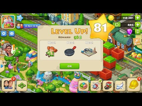 TOWNSHIP GAMEPLAY LEVEL 81
