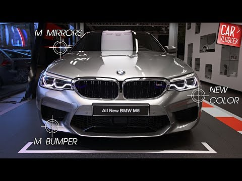 INSIDE the NEW BMW M5 2018 | Interior Exterior DETAILS w/ REVS