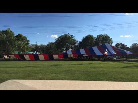 Area Tent & Canvas LLC - 45 x 135 canopy tent