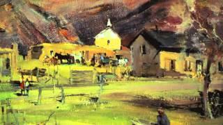 非常欣賞Nicolai Fechin (1881 - 1955 ) Russian artist的藝術作品向他致敬2016年4月12日 HD(1080p)