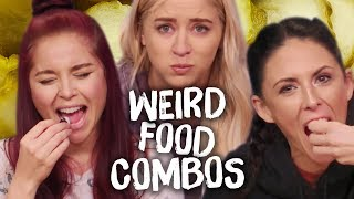 Weird AF Food Combinations People Actually Eat?! (Cheat Day)