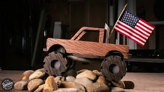How To Make A Wooden Toy Monster Truck