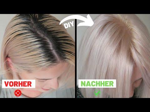 selber-haare-blond-färben-❗️-ganz-ohne-gelbstich-blondieren-👱🏻♀️-vlogtober-diana-delo