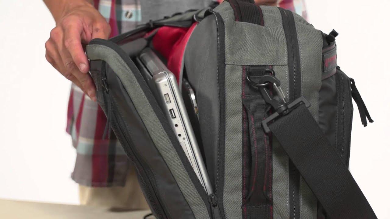 Timbuk2 Ace Hybrid Messenger Backpack Youtube