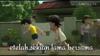 Gambar cover Bikin baper (animasi and lyrics cinta dalam doa)#doraemon