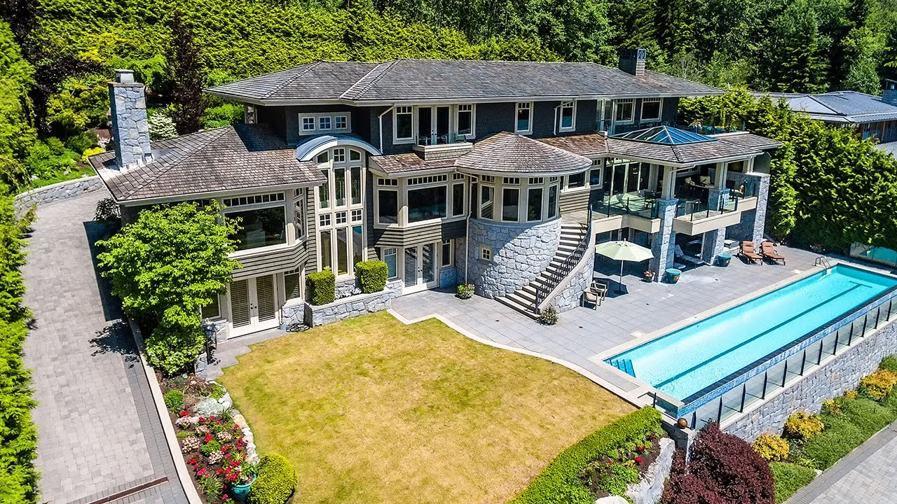 Luxury Home 1651 Marlowe Pl West Vancouver British