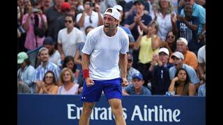Jo-Wilfried Tsonga vs. Tennys Sandgren | US Open 2019 R1 Highlights