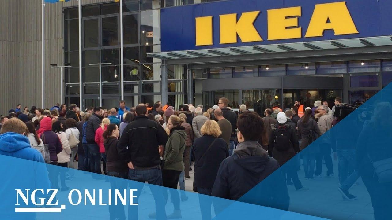 Ikea Kaarst Erster Verkaufstag Im Neuen Möbelhaus