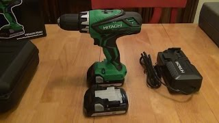 Hitachi 18V Lithium Compact Driver Drill (DS18DGL) Review