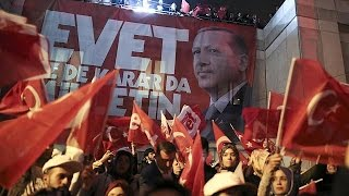 Turkey referendum results: contention and celebrations