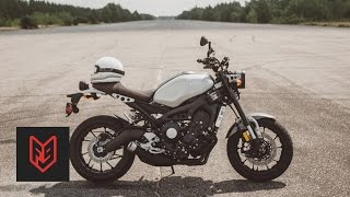 Yamaha XSR900 Review at fortnine.ca