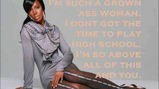 "Kelly Rowland - ""Grown Ass Woman"" With Lyrics On Screen (NEW SONG 2010)"