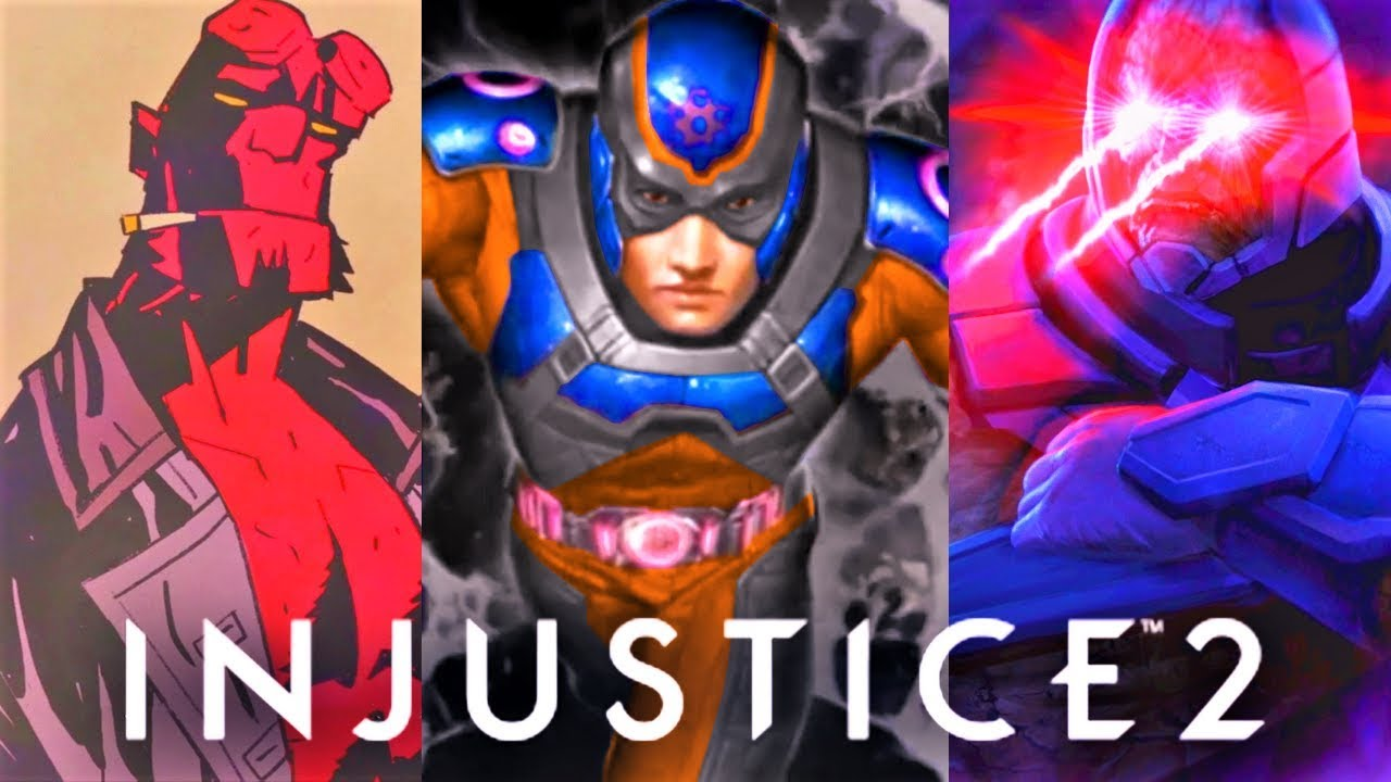 Download INJUSTICE 2 - ALL DLC CHARACTERS ENDING! (Atom, Hellboy, Starfire & More)