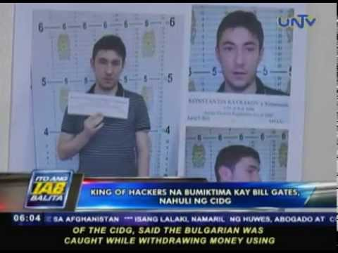 King of Hackers na bumiktima kay Bill Gates, nahuli ng CIDG