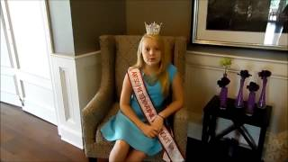 Molly Greer ~ ANTSO Preteen National Sweetheart 2016 Video Update #1