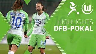 Caroline Hansen schießt uns ins Halbfinale | Highlights | DFB-Pokal | VfL Wolfsburg Frauen - SC Sand