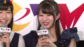 2017年7月13日放送 アシスタントMC:行天優莉奈&佐藤朱(AKB48 Team 8...