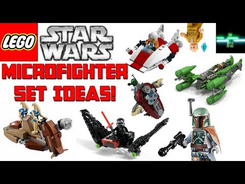 lego star wars microfighters set ideas 2018 2019 lego. Black Bedroom Furniture Sets. Home Design Ideas