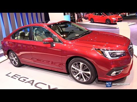 2018 Subaru Legacy 3.6R Limited - Exterior, Interior Walkaround - Debut At 2017 Chicago Auto Show