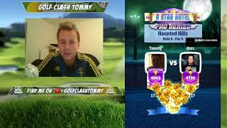 Golf Clash stream, BOOO - Prepare for the Halloween tournament!!