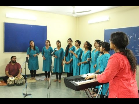 Dhwani - Yaman || Lady Shri Ram College || Indian Classical Choir || University of Delhi