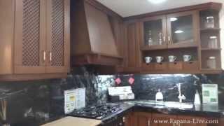 Пример мебели в Испании, кухня в квартиру или дом, светлая и темная(, 2014-12-15T16:47:14.000Z)