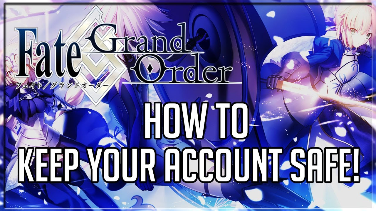 Fate Grand Order English HOW TO KEEP YOUR DATA SAFE Account Binding Guide