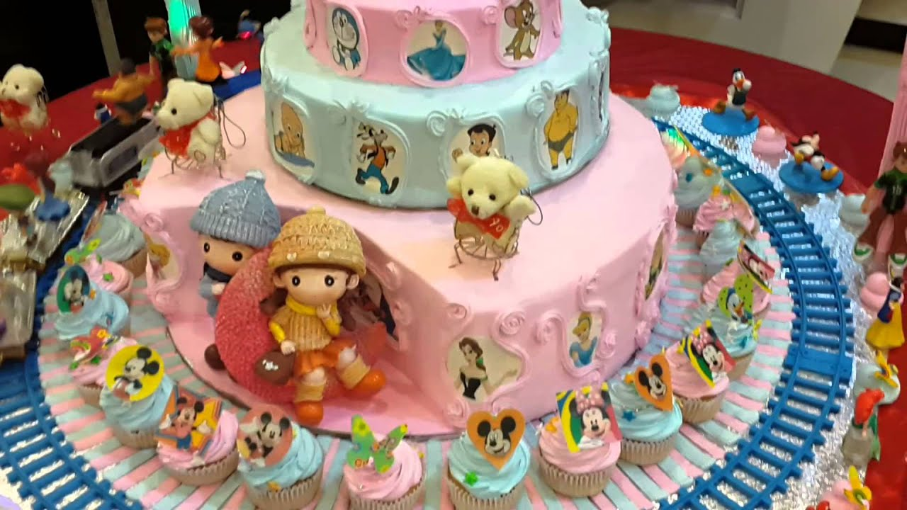 Baby Shower Cake By Gaurav Pastry Palace - YouTube