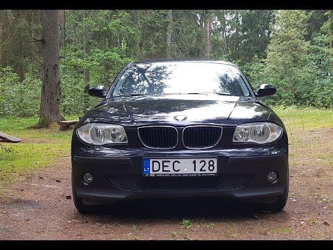 Тест драйв BMW 1-Серий  E87 116i