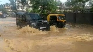 The flooded streets of Dimapur, Nagaland