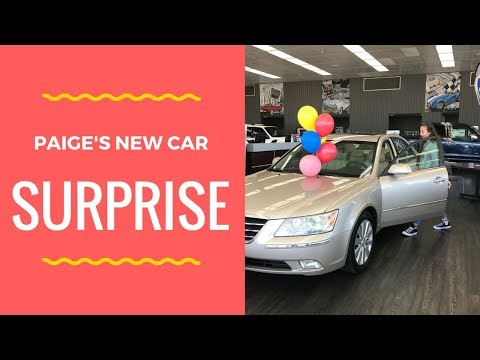 First Car Surprise At Rock River Ford In Rockford, IL