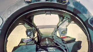 A-10 Gatling Gun Low-flying Strafing Run – Cockpit POV