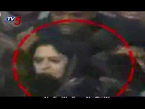 Actress Nagma Slaps Young Boy for Pressing...