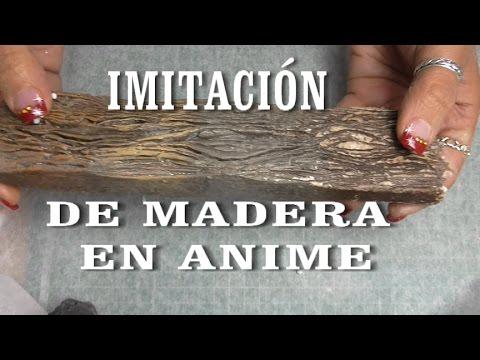 Diy imitaci n de madera en anime porexpan imitation - Cosas de goma eva ...