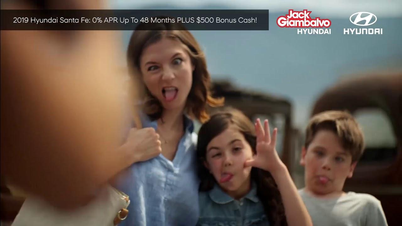 Jack Giambalvo Hyundai >> Jack Giambalvo Hyundai 2019 Hyundai Santa Fe 0 Apr 500 Bonus Cash January 2019