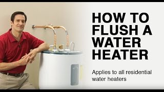 How to Flush a Residential Water Heater thumbnail