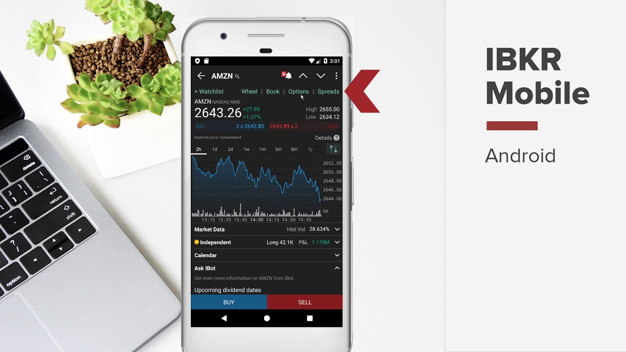 Get Started with IBKR Mobile for Android Phone