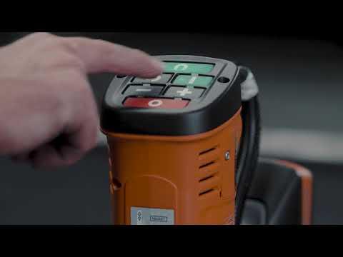 FEIN AKBU: Tool-free core drill changes.