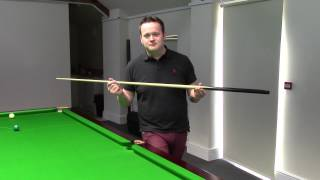 Snooker Cues - Shaun Murphy: My cue