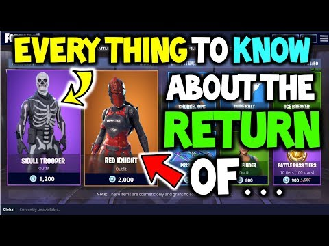 Download Mp3 Skull Trooper Red Knight In Fortnite Epic Responses
