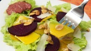 Салат из свеклы и тыквы