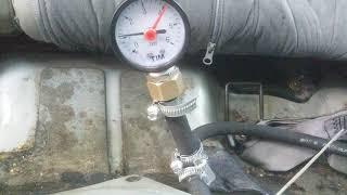 Проверка давления топлива maxima a33