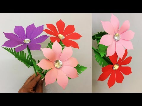 Tags of realistic flower making cat meme tube how to make realistic paper flower making paper flowers step by step diy mightylinksfo