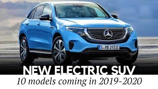 Mercedes-Benz EQC and 10 New All-Electric SUV Crossovers Arriving in 2019-2020