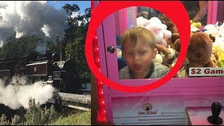 Puffing Billy - old trains, new friends & a claw machine