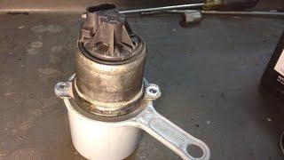 Ford 6.0L Powerstroke: EGR Valve Cleaning Procedure P0401 P0402 P0404