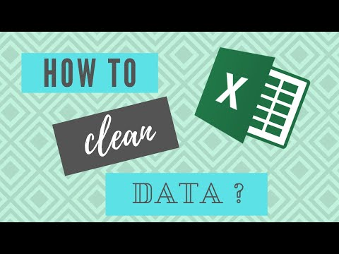 How to clean data in Excel? 1/3 - Remove extra spaces