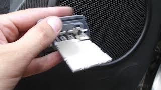 кИА СОУЛ ремонт блока резисторов вентелятора печки Ч 1
